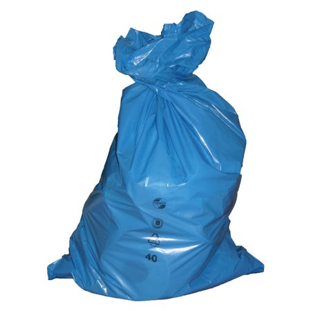 LDPE rubbish bag 120 litres 700 x 1100 mm, 250 pieces