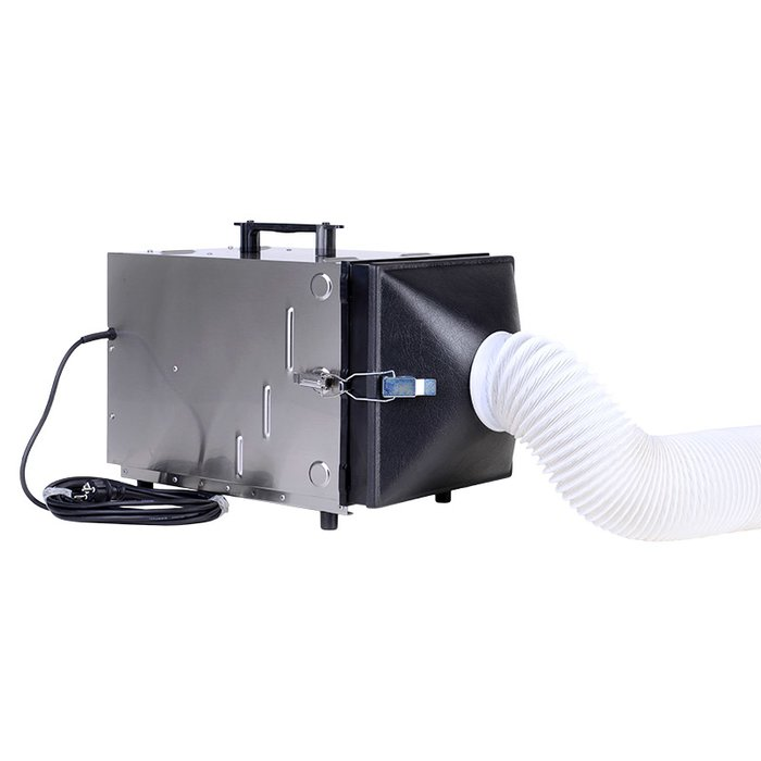 Funnel attachment for DC AirCube 500 air purifier