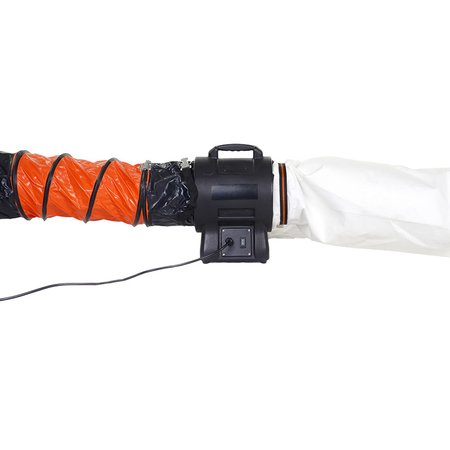Connecting hose Ø 200 mm (8) incl. lashing strap, 0.5 m...
