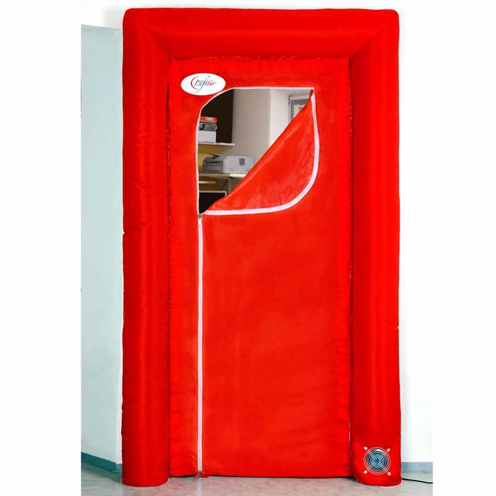 flesta air door - inner part (model 2) with curved zipper