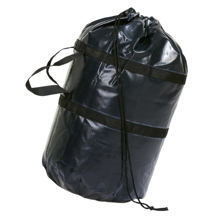 Carrying bag for air hoses, 50 x 45 cm, black with drawstring