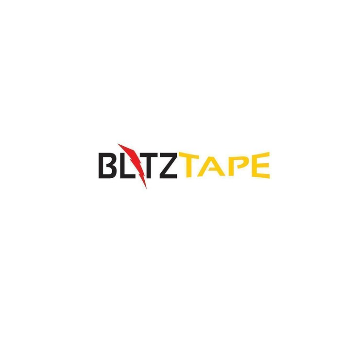 BlitzTape EXTRA-WIDE in colour WHITE, 50 mm x 3 m x 0,5 mm universal self-amalgamating silicone tape repair tape sealing tape