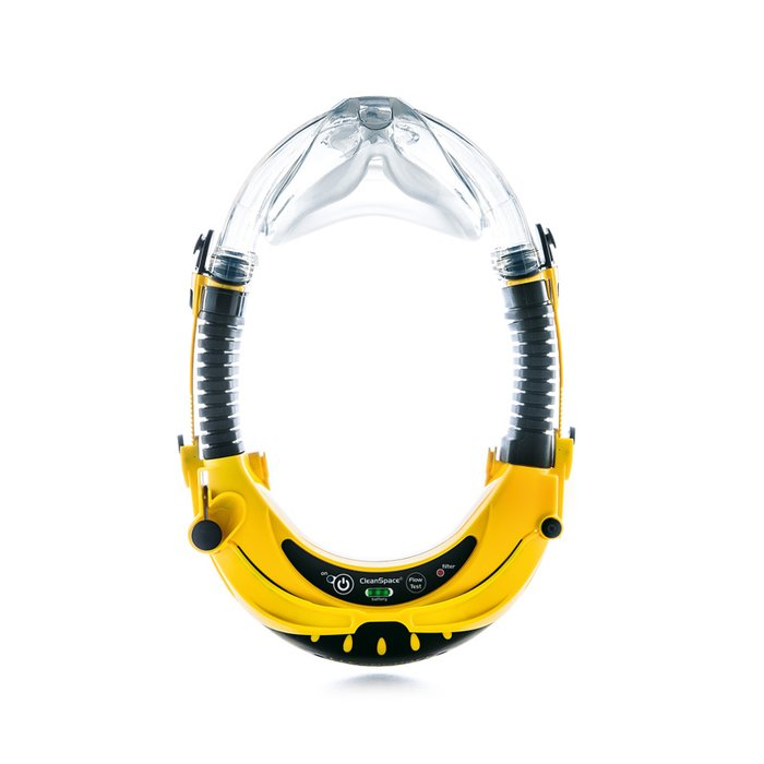 Cleanspace EX positive pressure air filtering mask P3 TM3, for use in potentially explosive environments